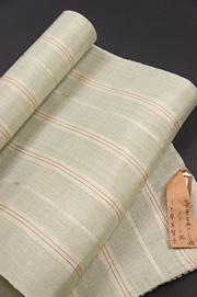 上原美智子 あけずば織 古典ロートン織 名古屋帯の写真