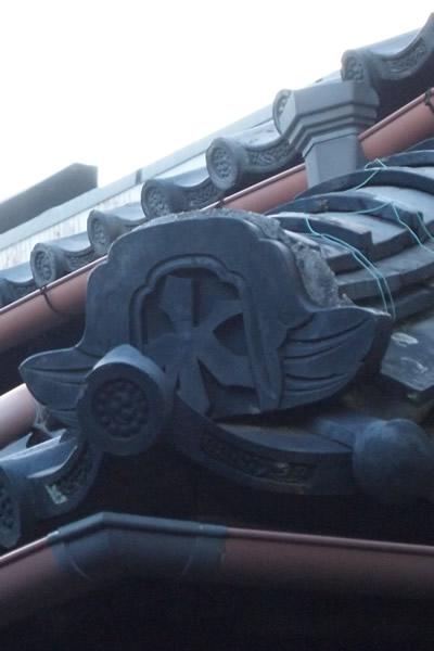 鬼瓦と江戸小紋の共通点