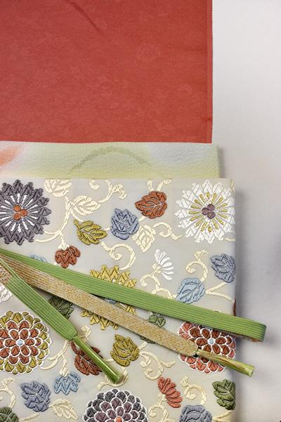 西陣唐織の袋帯