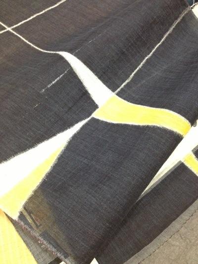 手織り小千谷縮